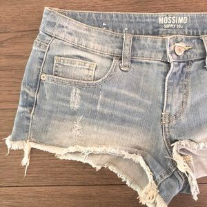 Mossimo Low-Rise Jean Shorts